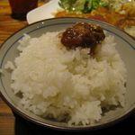 ゆいま~る食堂  - ご飯