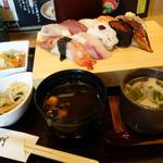藤左エ門 - 2013年7月 藤左エ門セット+茶わん蒸し1081円