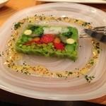 34256165 - ★7 10種類の野菜のテリーヌ