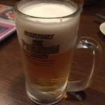 坐・和民 - 飲み放題のビールはプレモル。