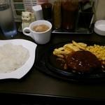 肉マル食堂 - ワンコインランチ、コスパ良すぎです。味も絶品。
