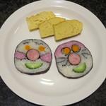 寿司バー・ロイズ - 子供ちゃんが喜ぶキャラロールと玉子焼き