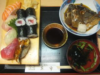 魚市 - 寿司定食