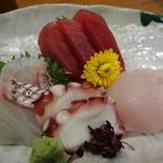 浅草 魚料理 遠州屋 - 料理写真:刺身盛り合わせ定食