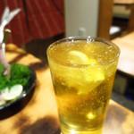 愛知屋 - シャーベッツ下町ハイボール!(驚)