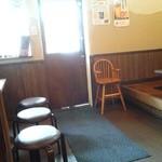 昭和亭食堂 - 明治通り側の入り口