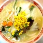 中国麺家万天 - 料理写真:肉類は使わず、野菜だけの塩味ラーメン、野菜そば(タンメン)です。干しエビの隠し味と野菜のうま味がスープに溶け込んで、さっぱりとした味わいです。