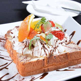 ◆姉妹店から届いたパンを使用しています♪