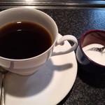 くにき屋 - ランチのホットコーヒー