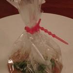 麻布淺井 - 京野菜のコンソメ蒸し