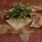 麻布淺井 - とらふぐのサラダ仕立て