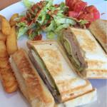 ハンズバーガー - ホットサンド(ハムチーズ味)