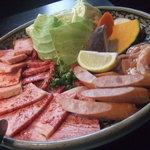 幸庵 広陵店 - 極上焼肉セット(2人前) のお肉