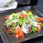 Cafe 151@ - オススメ鮮魚のカルパッチョ