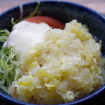 巴蜀 - ランチのミニ蒸し鶏