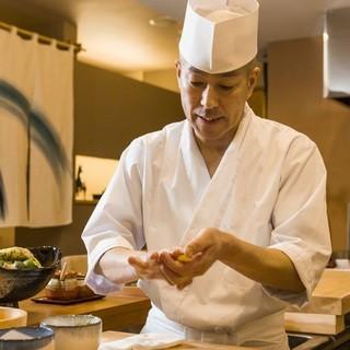 中央区はずれの隠れ家的寿司屋です