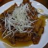 幸楽 - 料理写真:揚げワンタンの甘酢あんかけ