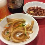 長安刀削麺 - ツマミ