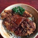 城昇の里 - 料理写真:ソースカツ