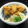 麺匠 やしま - 料理写真:とり天ぶっかけうどん