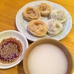 板橋冷麺 - 韓国餃子とマッコリ(^_^)
