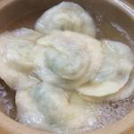 羽根木餃子 - パクチーいっぱいの水餃子は是非イートインで