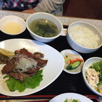 34277286 - 牛タン定食1200円。