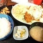 ちゃい九炉 - チキン南蛮定食¥750