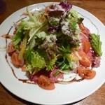 松阪ダルマ - 牛のカルパッチョサラダ