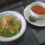3428554 - スープ&サラダ