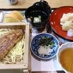 34280512 - 鰻は半分で良かったのでこちらのセット。天ぷら不味い。。