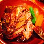 浅葱  - 真鯛のあら炊き