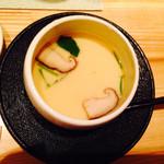 浅葱  - お通しの茶碗蒸し