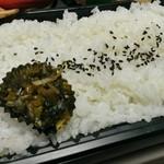 ミズタニ - 白飯と漬物