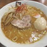 玉五郎 - (15年1月)味噌煮干し味玉らーめん