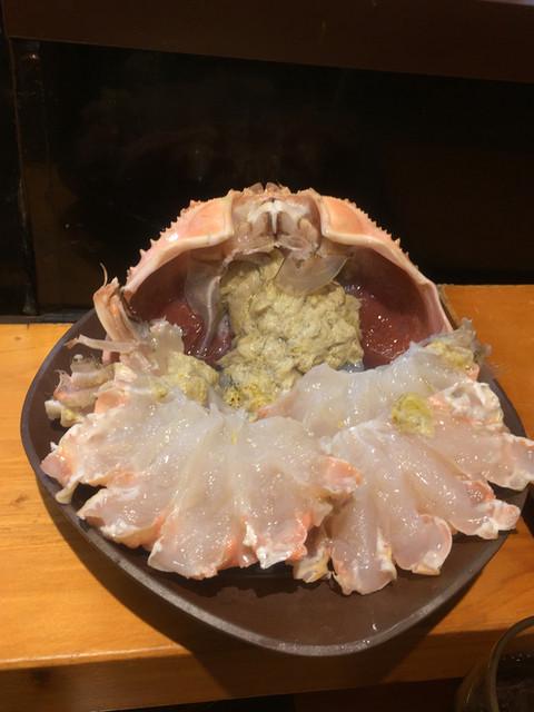 ひょうたん寿司 - かにしゃぶ