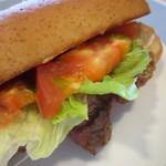 アンビルハウス - 中身はビーフステーキと野菜