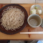 樹庵 - 粗挽き二八蕎麦(大盛)