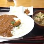 34294700 - 米粉カレーとん汁セット  650円