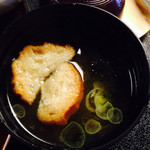 鍾景閣 - 味噌汁 美味しい揚げ麩
