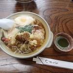 みなもとや食堂 - 料理写真:鍋焼きうどん(800円)