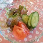 グッドウッドカフェ - セットのサラダ