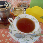 グッドウッドカフェ - 紅茶ポット提供