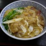 大阪屋 - 天とじ丼700円