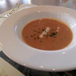 ウィステリア - マッシュルームとトマトのスープ