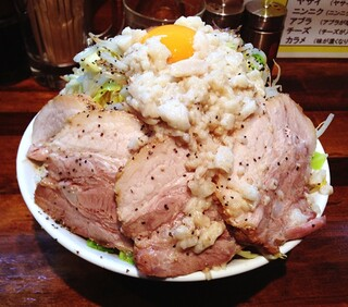 麺処 マゼル - 肉増しまぜそば
