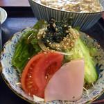 きつ井 - セットのサラダ