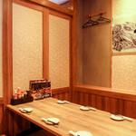 八剣伝 - 座敷(6名様用の個室です)