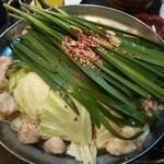 さくらみち - 牛もつ鍋(コース)