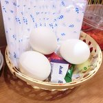 くるめや - 無料のゆで卵